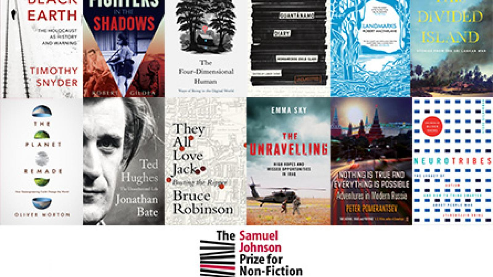 The Samuel Johnson Prize for Non-Fiction 2015 longlist