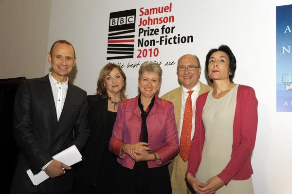 2010 Judging panel with winner Barbara Demick
