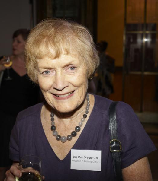 2011 Winner event: Sue MacGregor